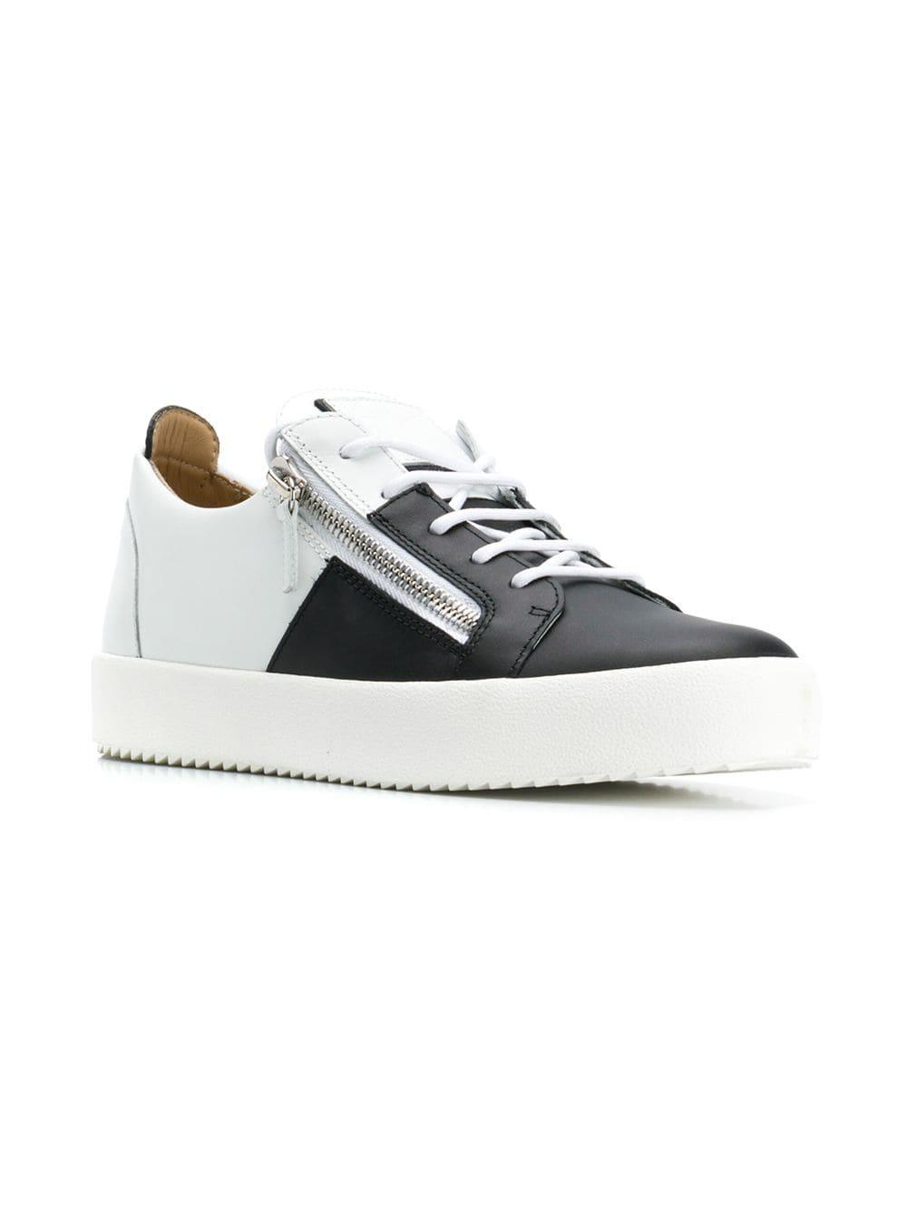 050fc5ff68d3d Lyst - Giuseppe Zanotti Frankie Signature Sneakers in White for Men