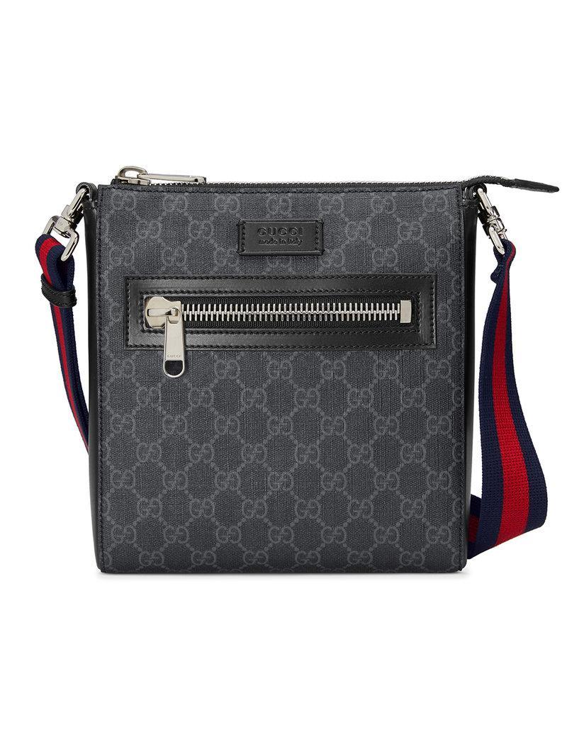 Lyst - Petite sacoche à motif Suprême GG Gucci pour homme en coloris ... d728e380075
