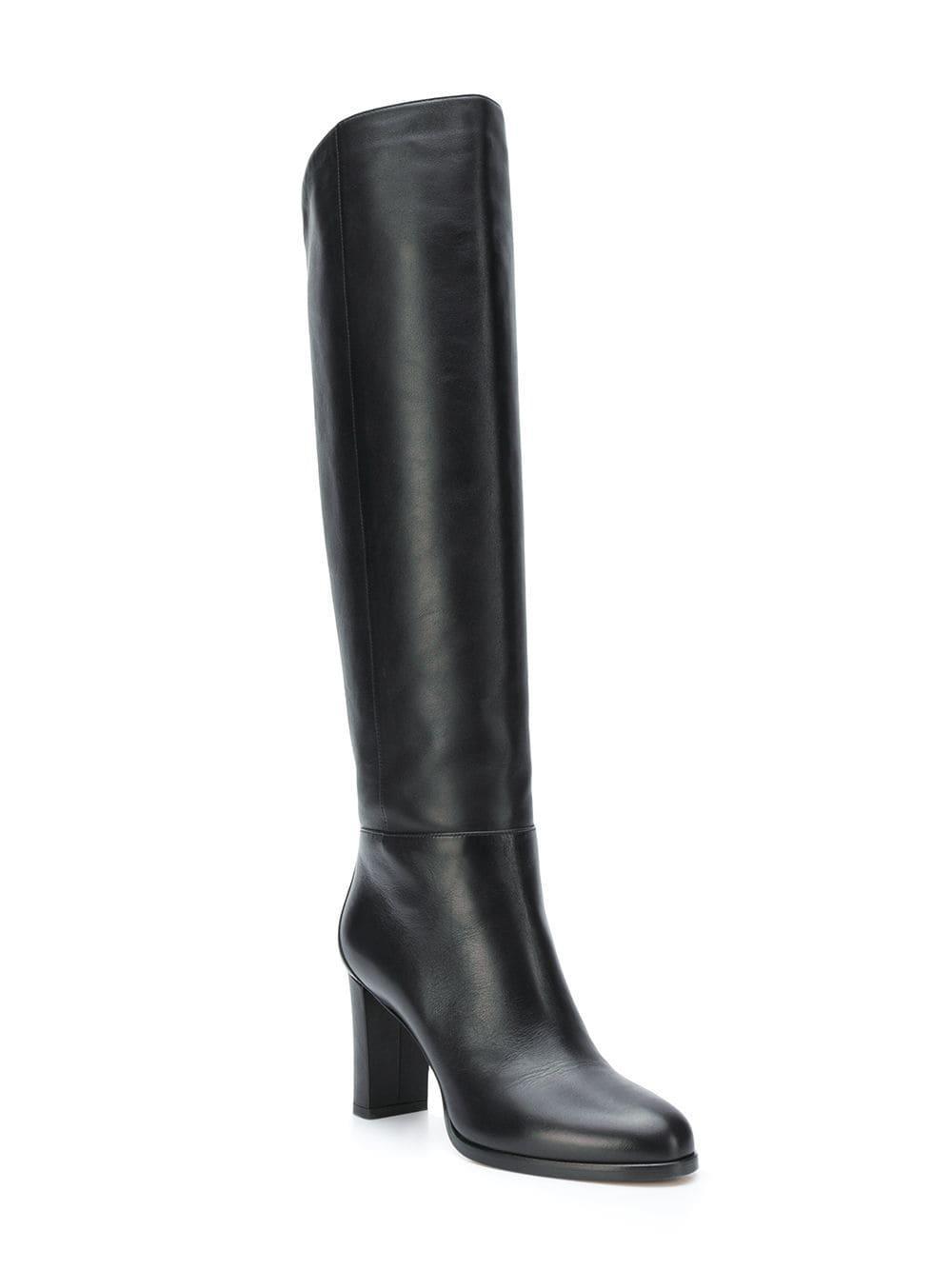 9d728fc71ba Jimmy Choo - Black Madalie 80 Boots - Lyst. View fullscreen