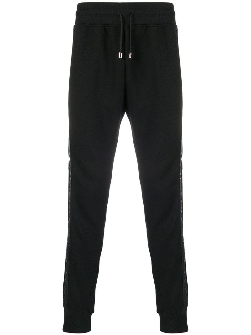 High Quality logo tape joggers - Black Philipp Plein Really Sale Online Hot Sale Low Shipping For Sale re0F2