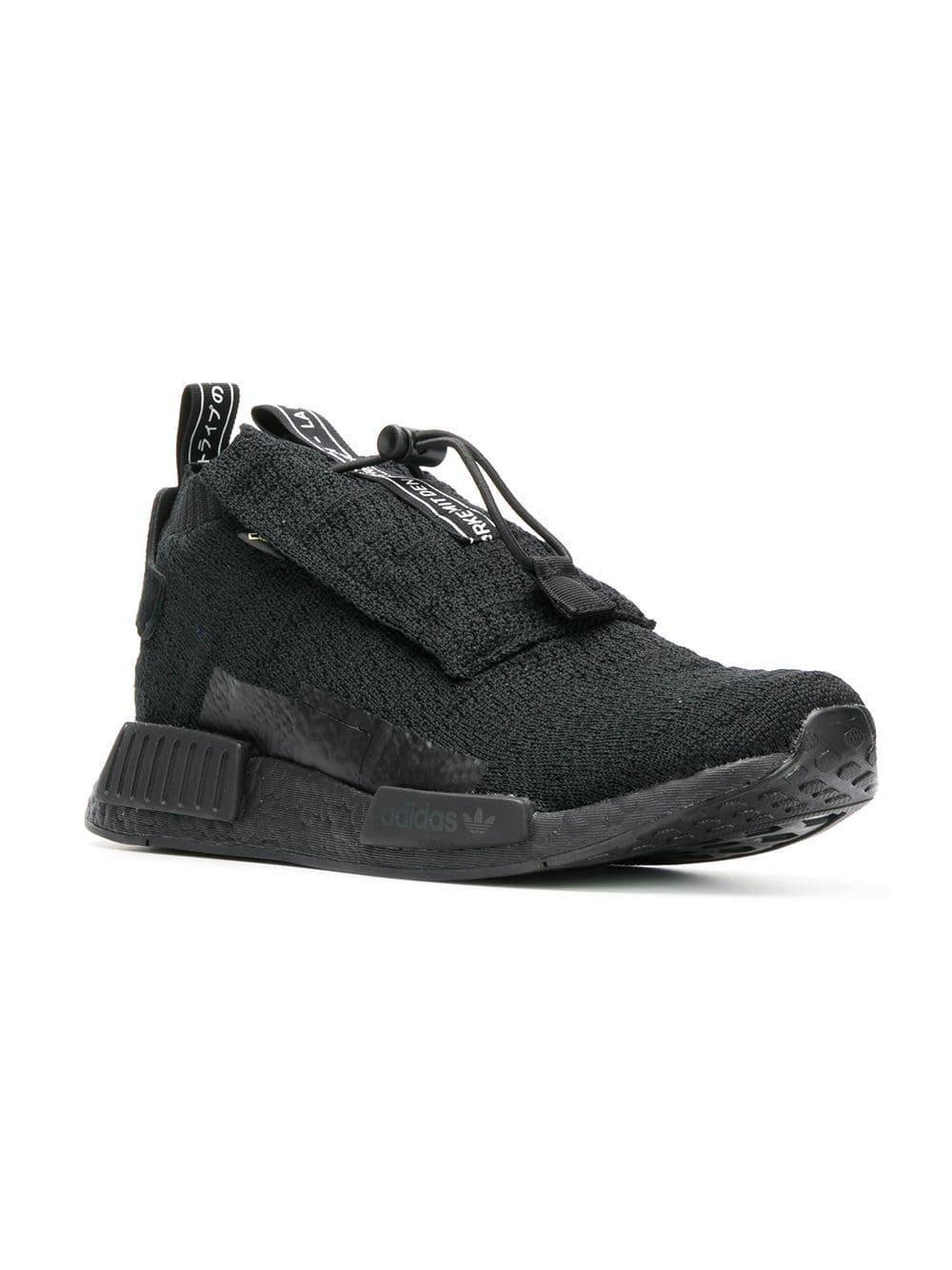 546a370b94f2e Lyst - adidas Black Nmd Ts1 Pk Gore-tex Primeknit Sneakers in Black for Men