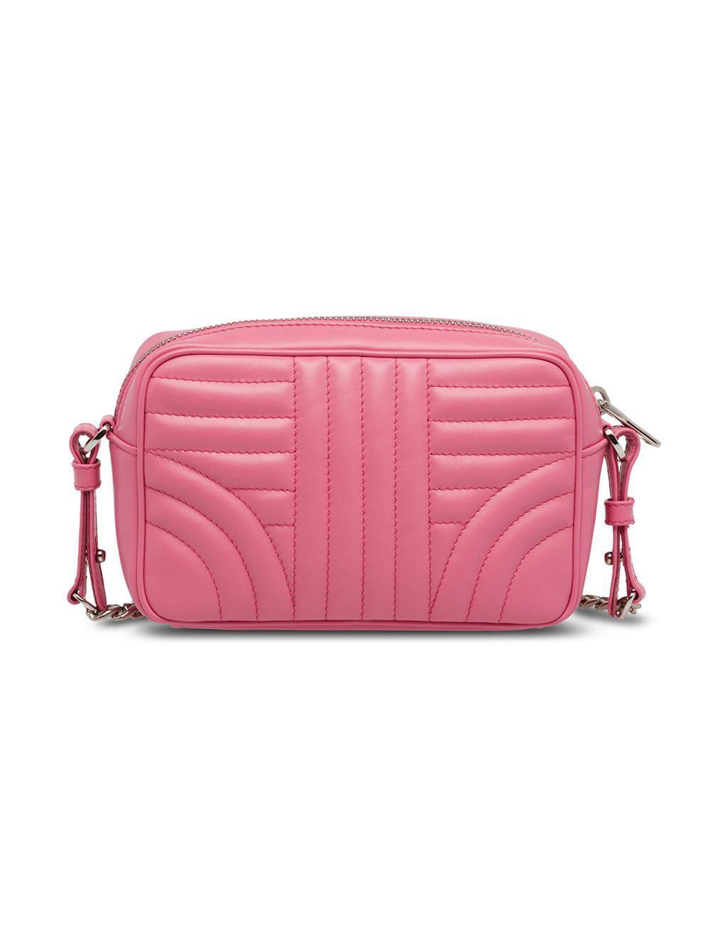 b54ccb113196 Prada - Pink Diagramme Shoulder Bag - Lyst. View fullscreen
