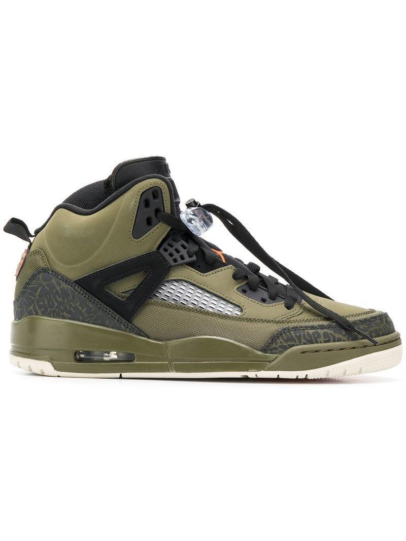 best sneakers 0c5da 628b5 Nike X Spike Lee Spizike Sneakers in Green for Men - Lyst