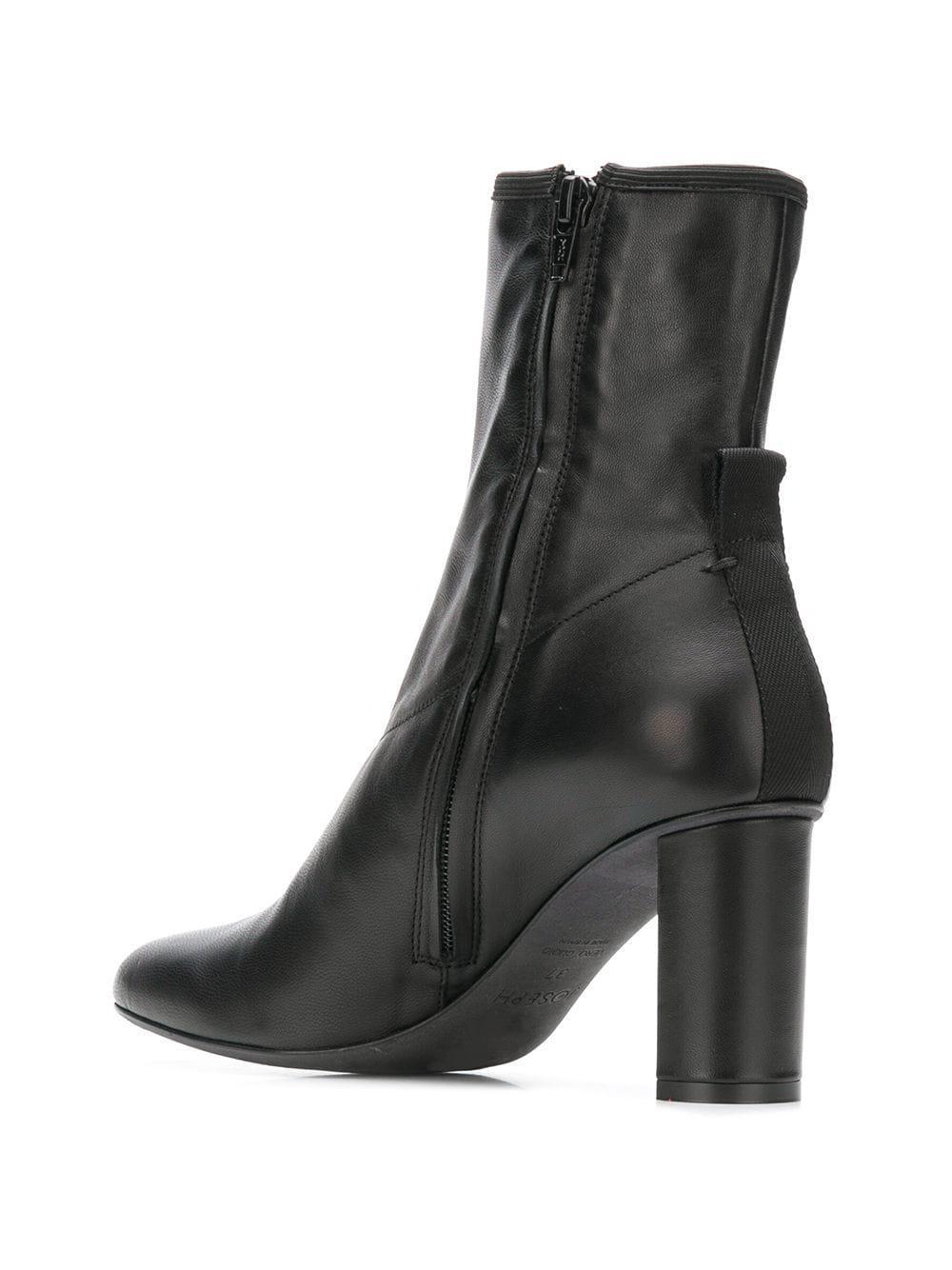 1e49aef78faa Joseph - Black Frida Block Heel Ankle Boot - Lyst. View fullscreen