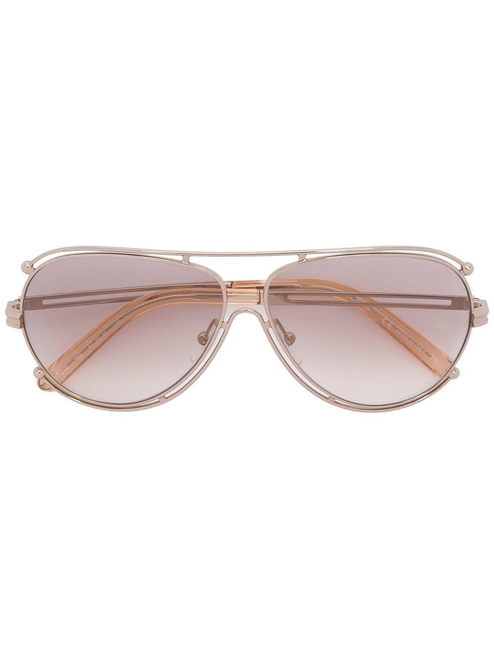 c382e0d6737 Chloé Chloé  isidora  Sunglasses - Lyst
