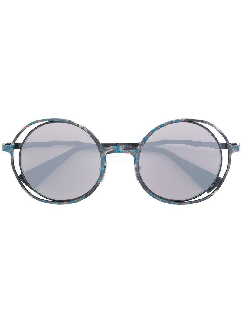 oversized round sunglasses - Grey Kuboraum yvfnnKXM