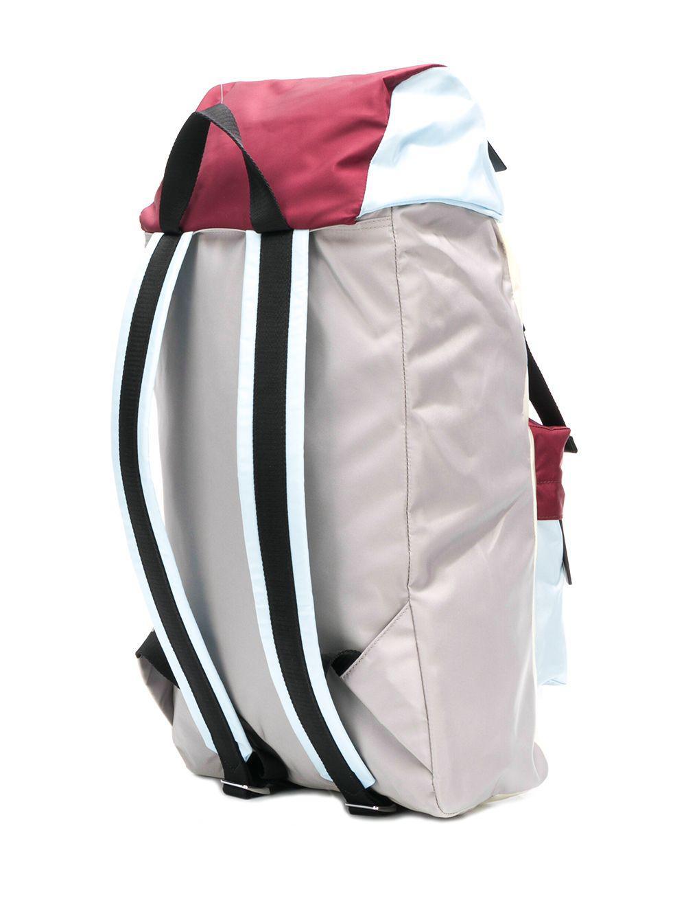 90a1d43304 Marni - White Colour Block Backpack for Men - Lyst. View fullscreen
