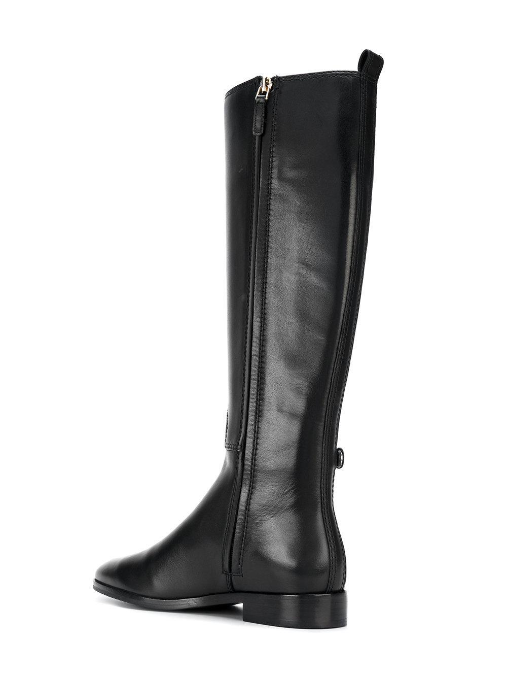 a34448f99 Tory Burch Wyatt Boots in Black - Lyst