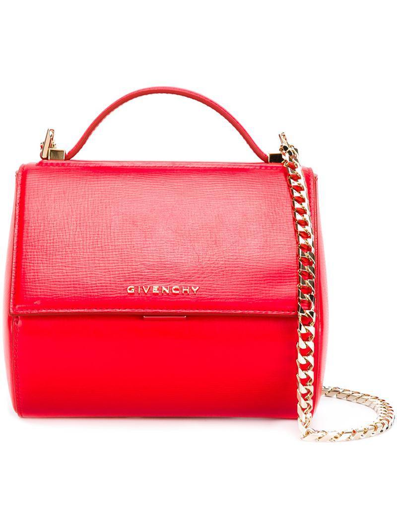 31d4668659 Givenchy - Multicolor Mini  pandora Box  Shoulder Bag - Lyst. View  fullscreen
