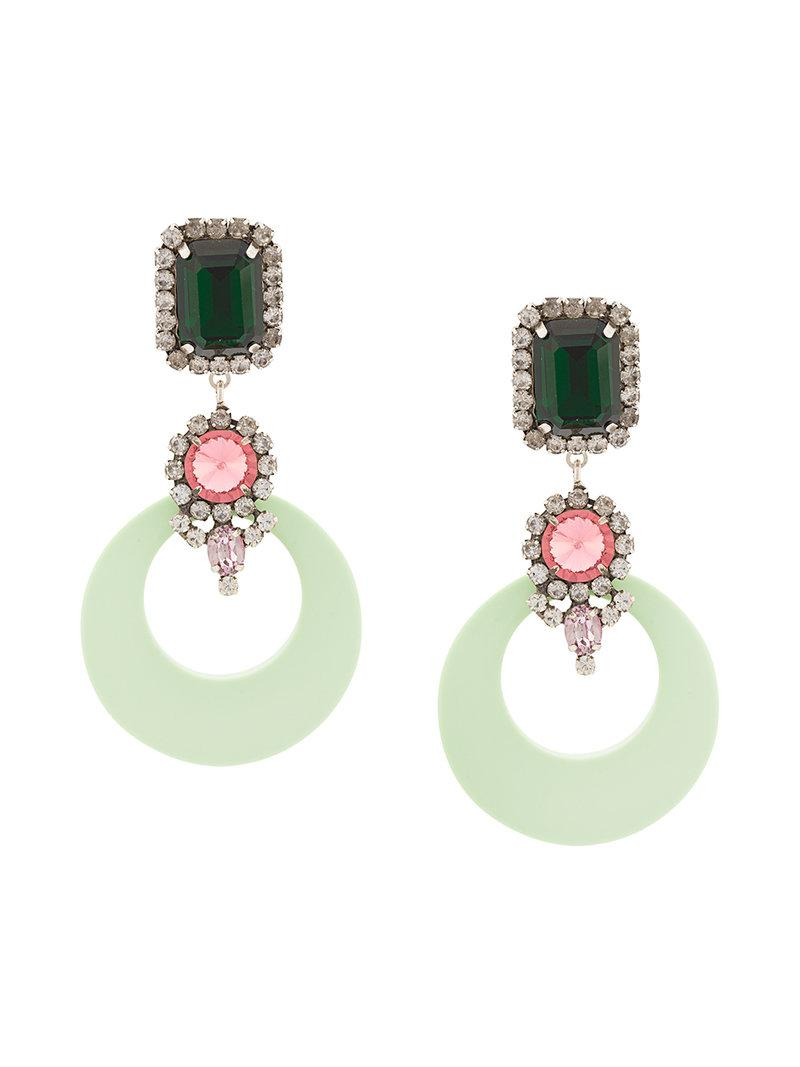 Earhardt earrings - Green Dannijo IMNXosvg