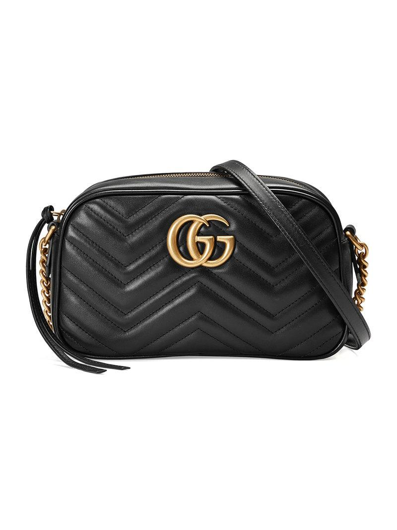 9525a67ea01 Gucci Gg Marmont Matelassã© Shoulder Bag - Save 22% - Lyst