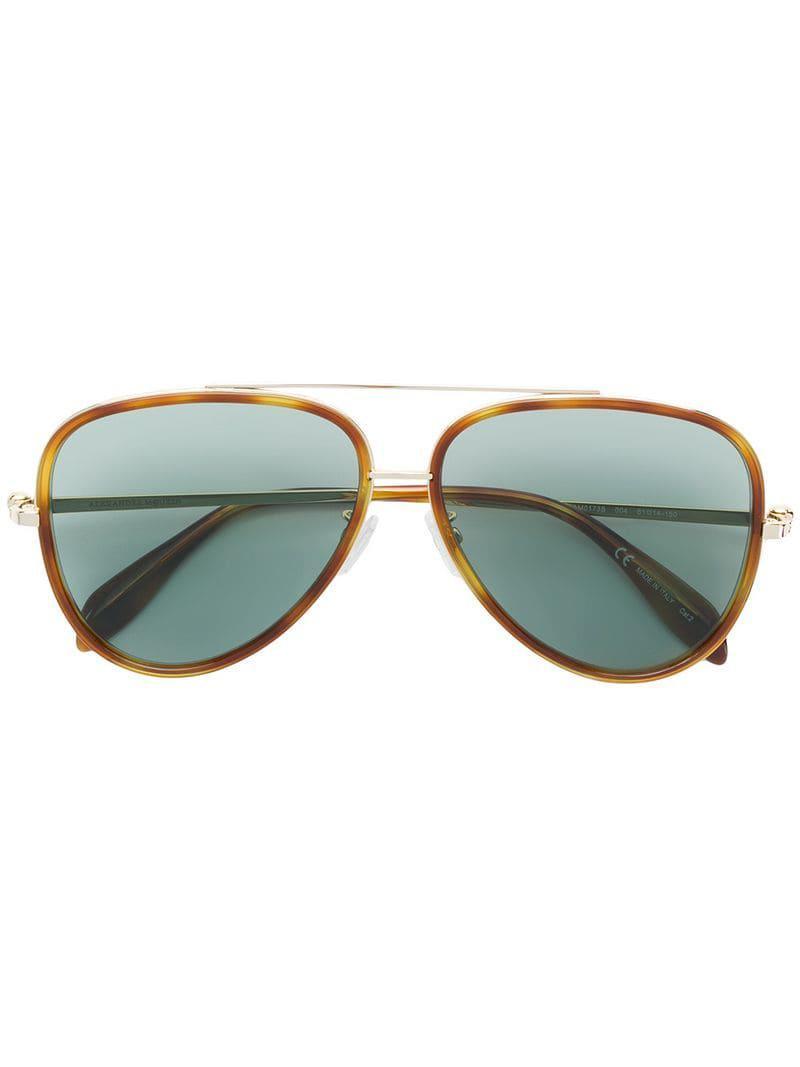 86d884009 ... Gafas de sol estilo aviador for Men - Lyst. Ver en pantalla completa