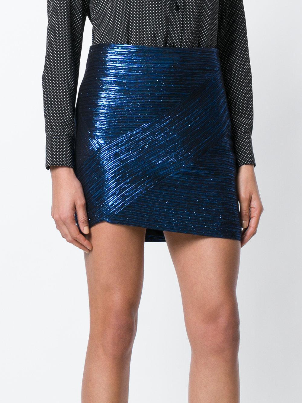 Minifalda entallada Iro Minifalda azul Minifalda Minifalda entallada Iro azul azul entallada Iro rTqxwr1A