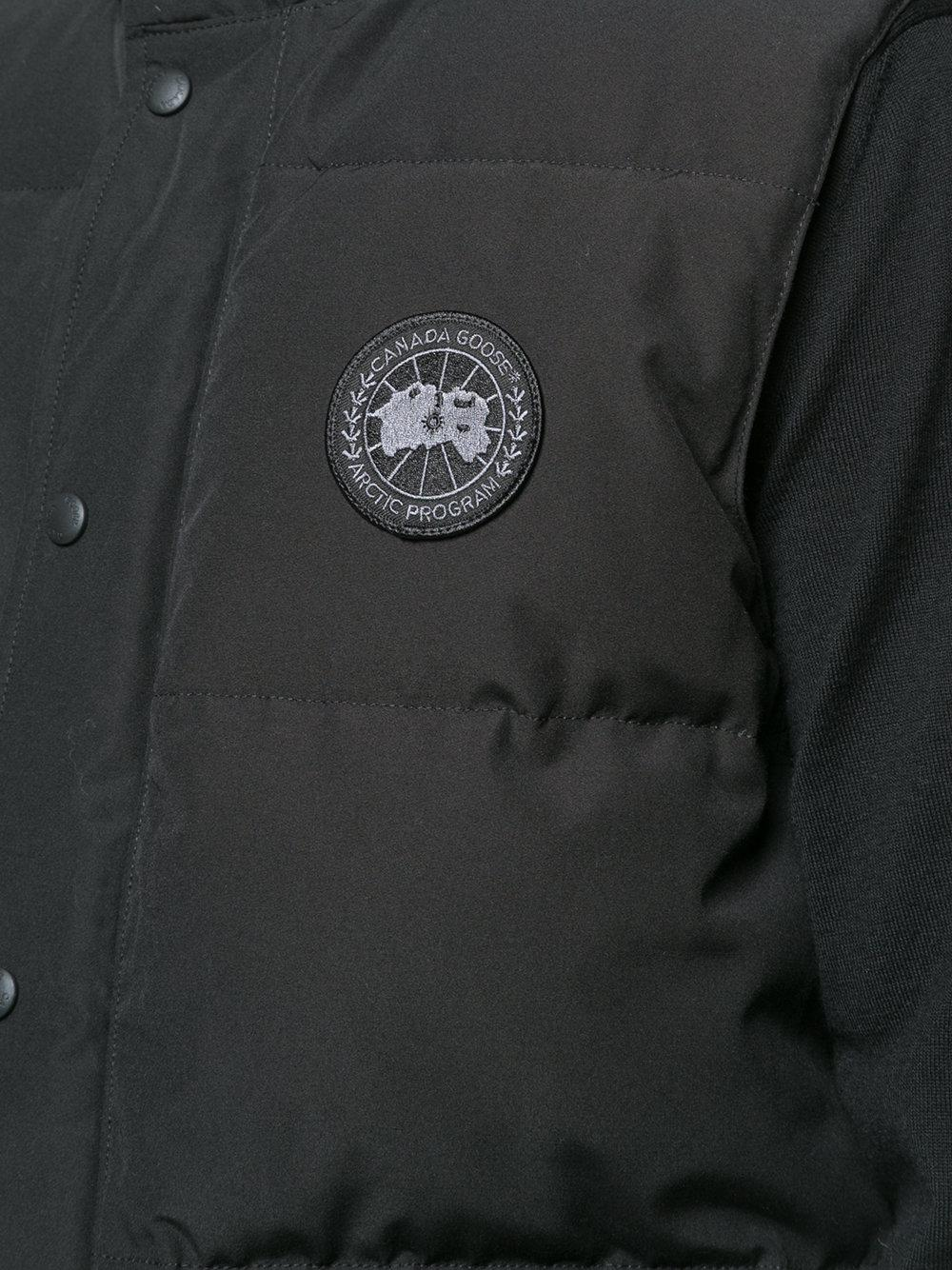 black badge canada goose jacket