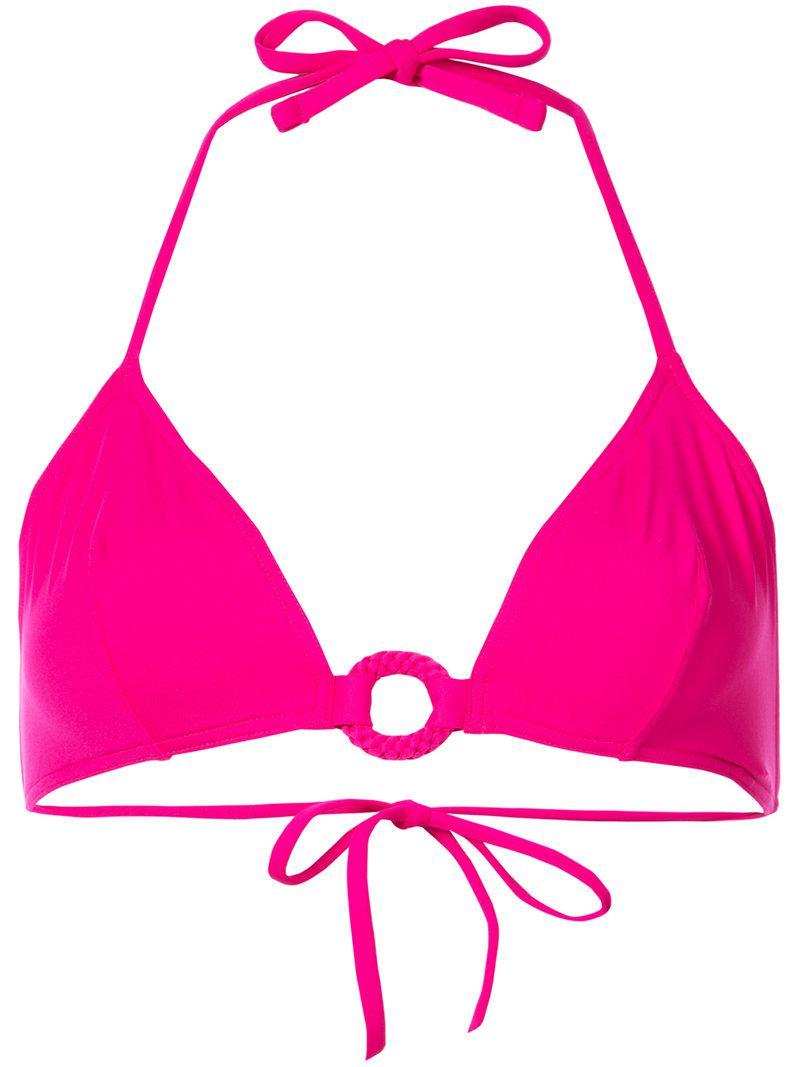 075ddc9d69 Lyst - Haut de bikini Iso Eres en coloris Rose