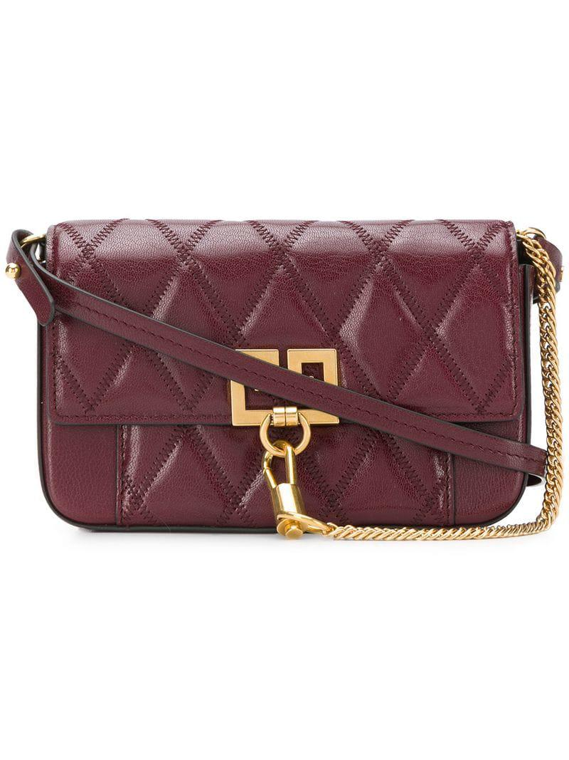 81820357ce5 Givenchy Mini Pocket Bag in Red - Lyst