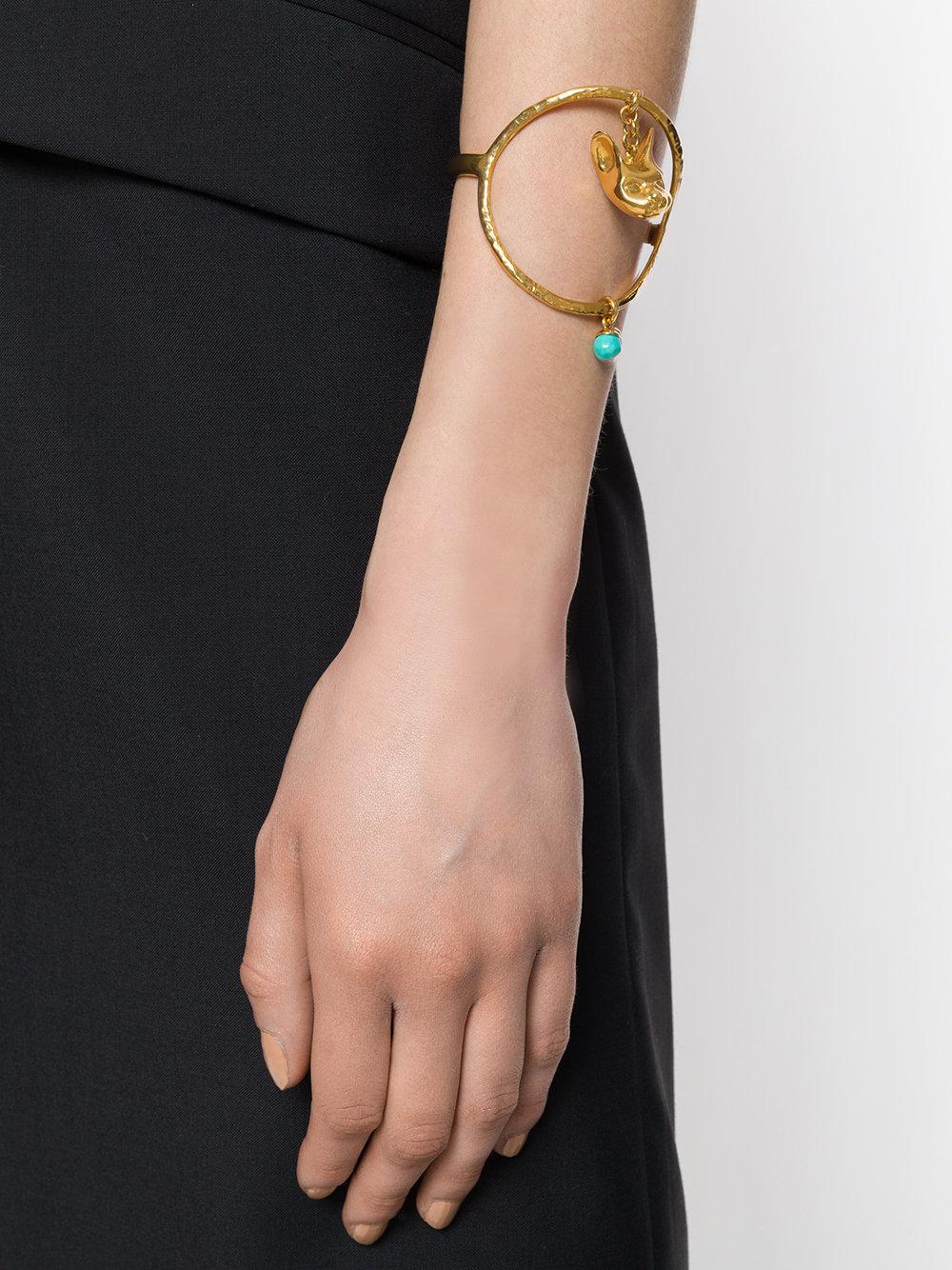 Givenchy cat charm bracelet - Metallic LjuqkQu