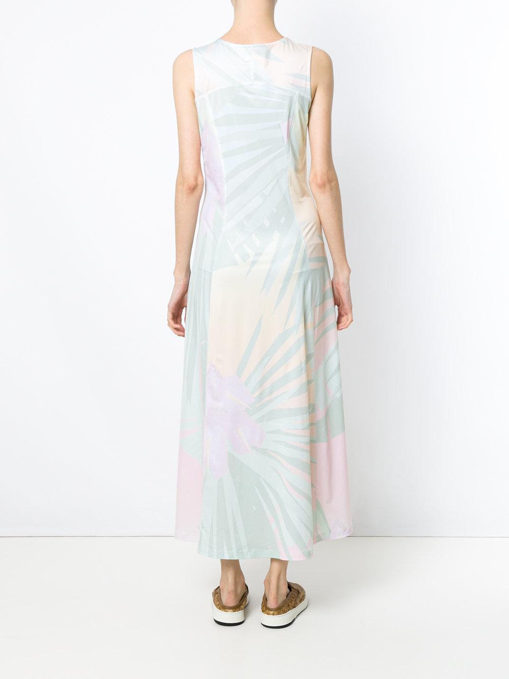 Anturio printed dress - Green Osklen hcOoLhy