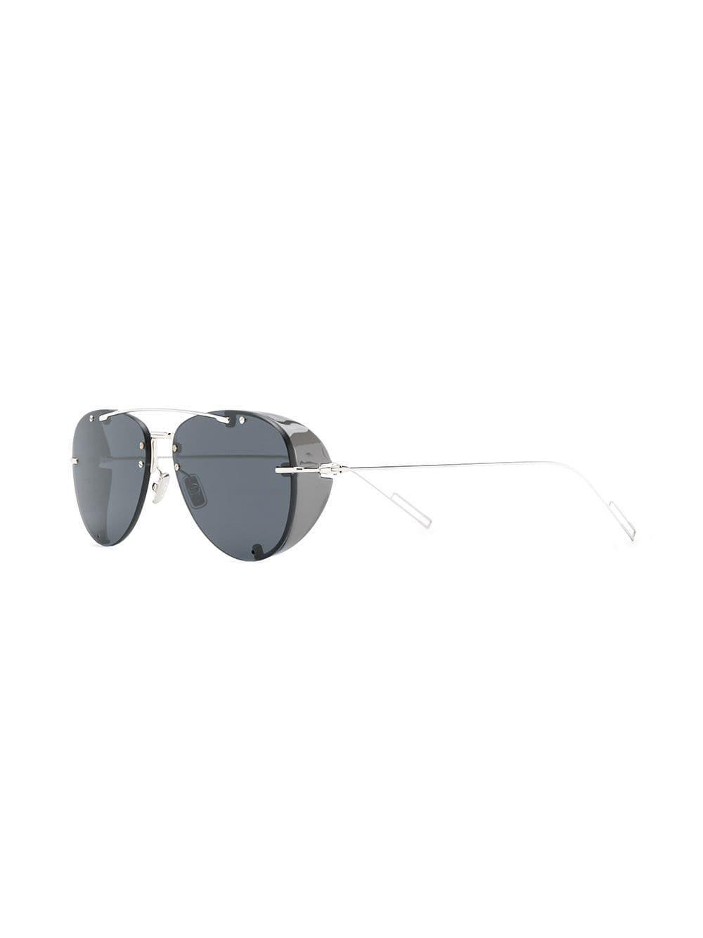 4b3a55073975 Dior Chroma 1 Aviator Sunglasses in Black for Men - Lyst
