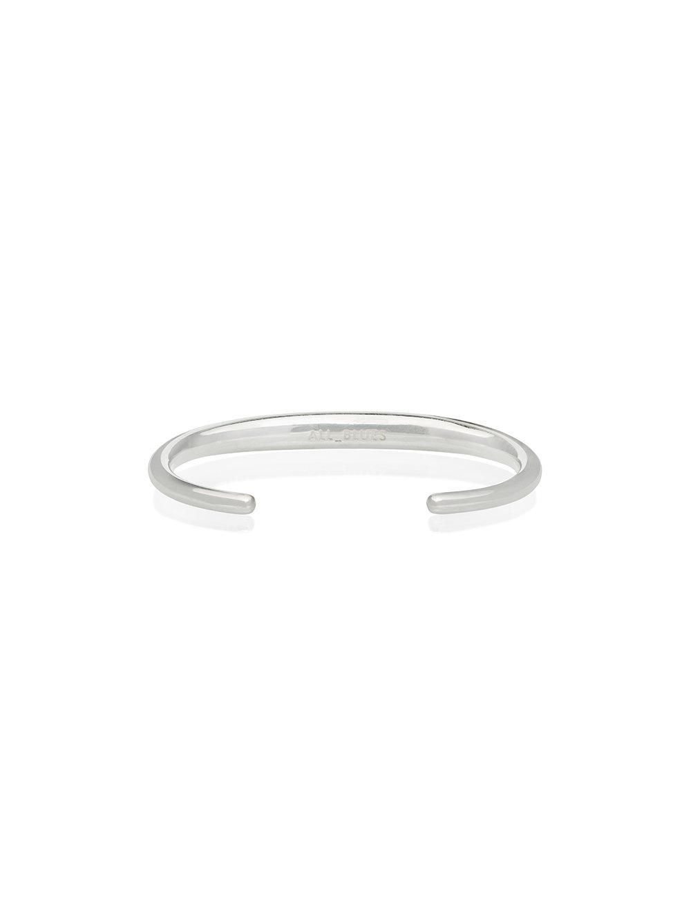 All_Blues Gold Fat Snake Bracelet - Metallic cyaJWUskbc