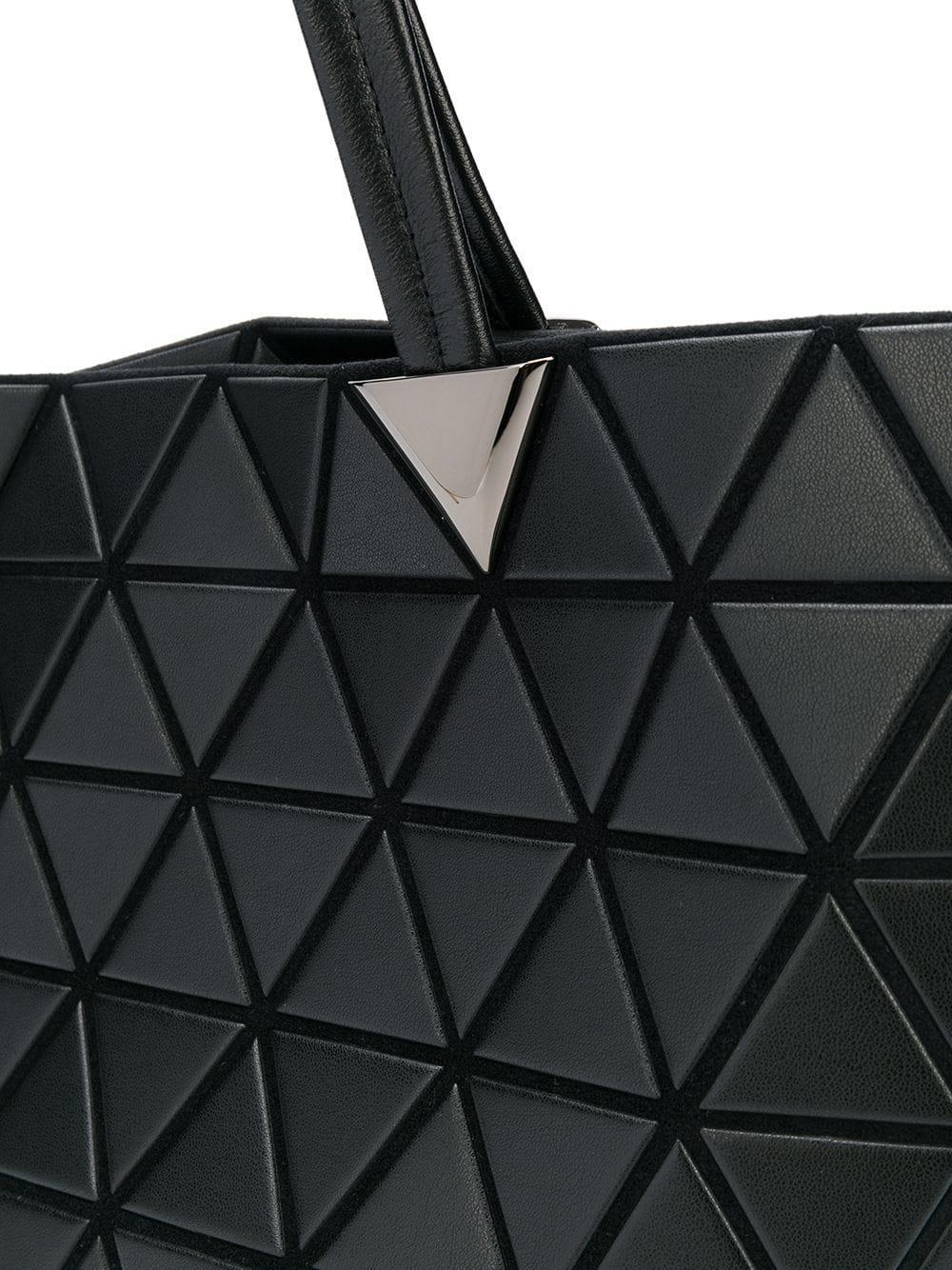 a1f3211286 Lyst - Bao Bao Issey Miyake Bateau Matte Tote Bag in Black