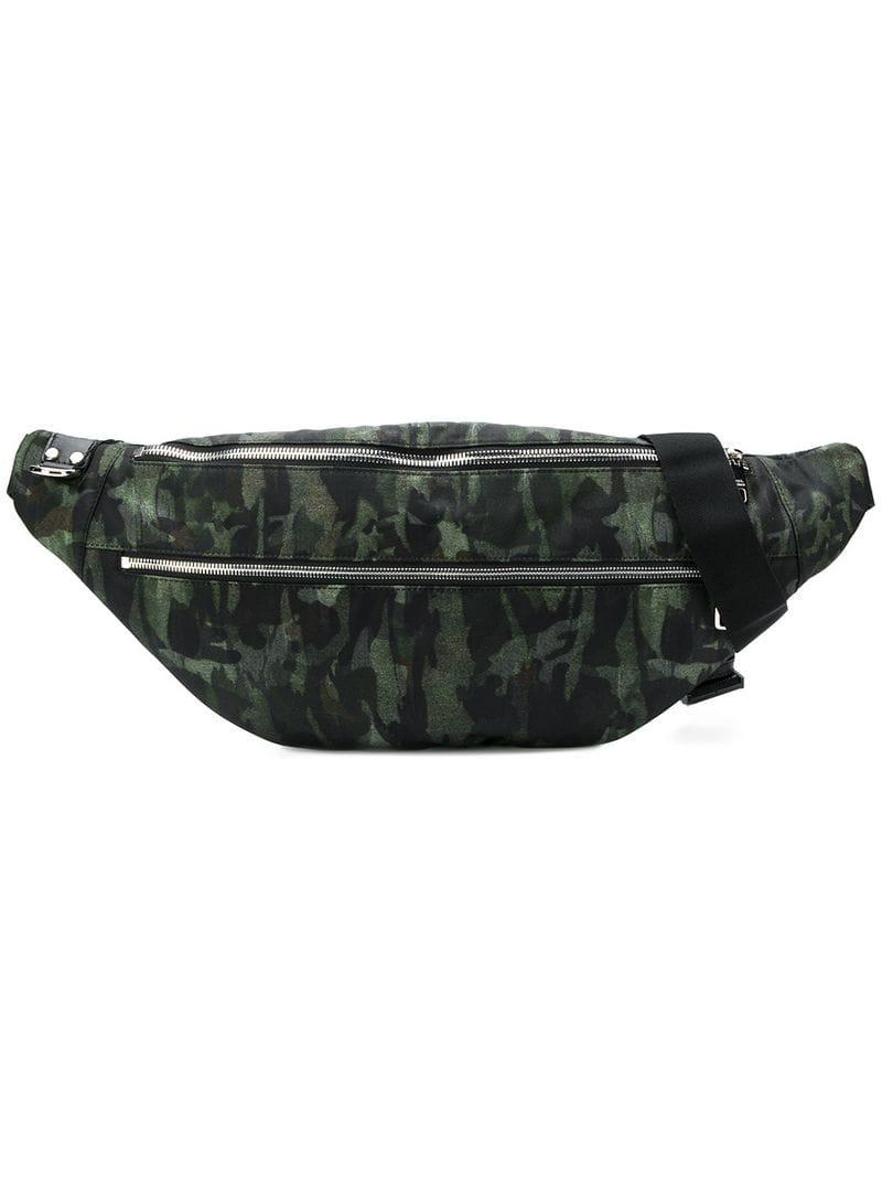 Dolce   Gabbana Camouflage Print Belt Bag in Green for Men - Lyst 79e228f4bf789