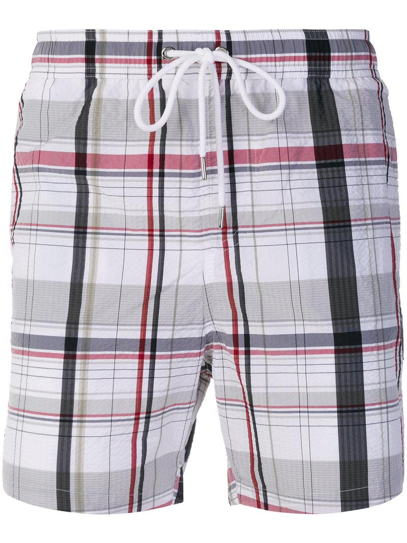 Discount 2018 Buy Cheap Comfortable checked swim shorts - Black Moncler Free Shipping Best Sale Sexy Sport xfvOjJ