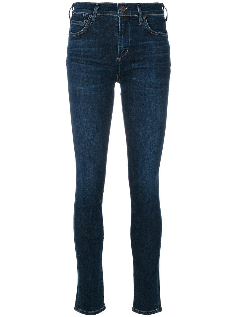 lyst citizens of humanity rocket jeans in blue. Black Bedroom Furniture Sets. Home Design Ideas
