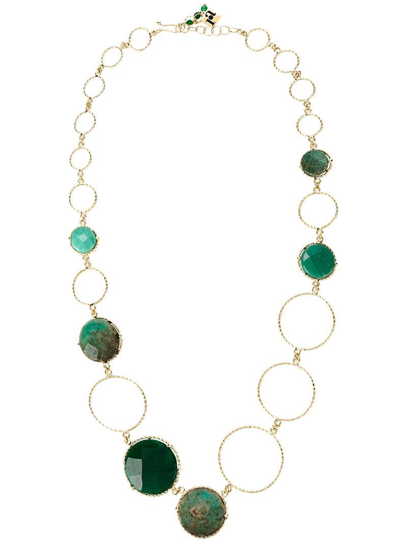 Raggio circle necklace - Metallic Rosantica cyOYG7Jj