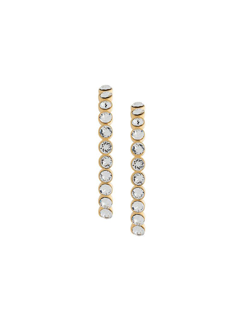 Ca&Lou hoop earrings - Metallic GyfrJQg