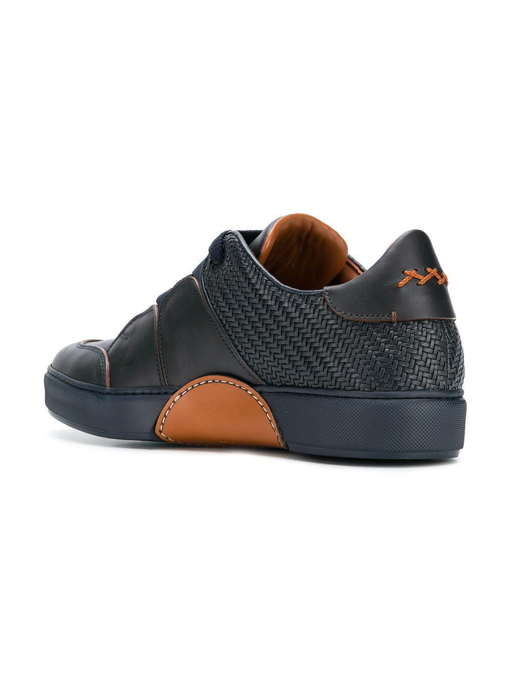 06deb2173dfcf Lyst - Ermenegildo Zegna Tiziano Sneakers in Blue for Men