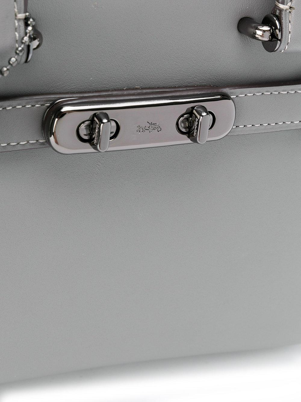 8ba5f651d62ac Lyst - COACH Swagger 21 Tote Bag in Gray