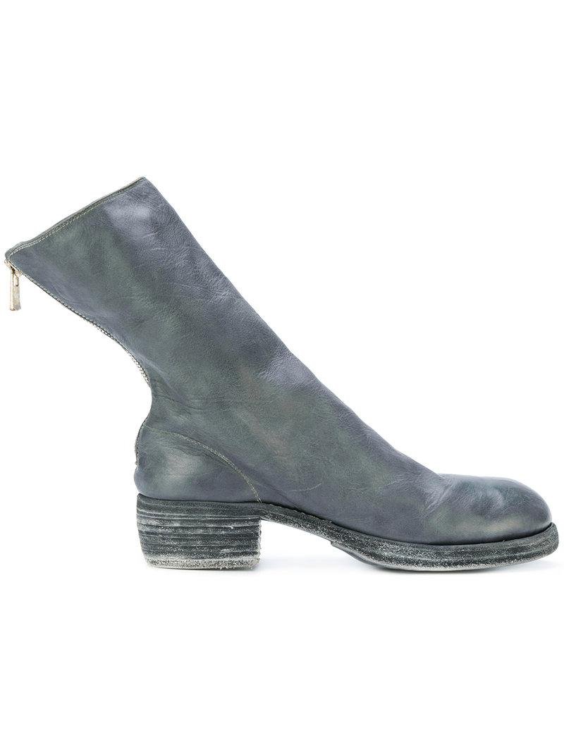 with paypal for sale cheap sale from china Guidi heeled sock boots view online in China for sale R4Fyp