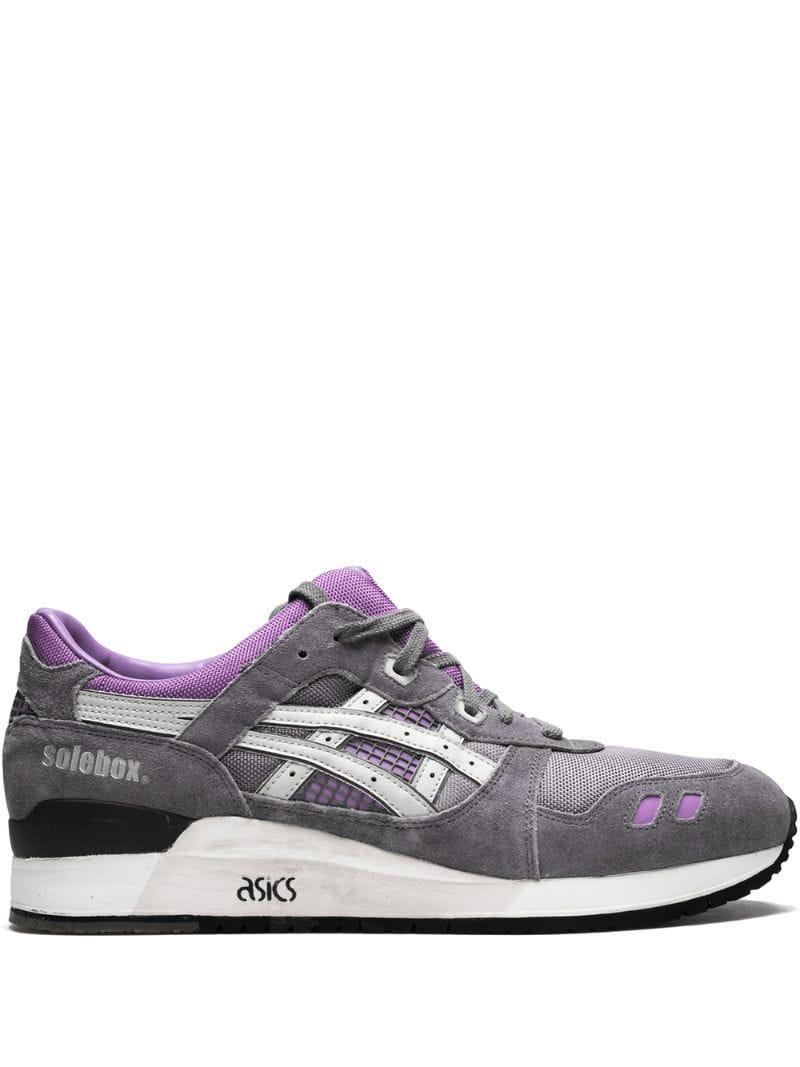 dd74d42b Asics - Gray Gel Lyte Iii Low Top Sneakers for Men - Lyst. View fullscreen