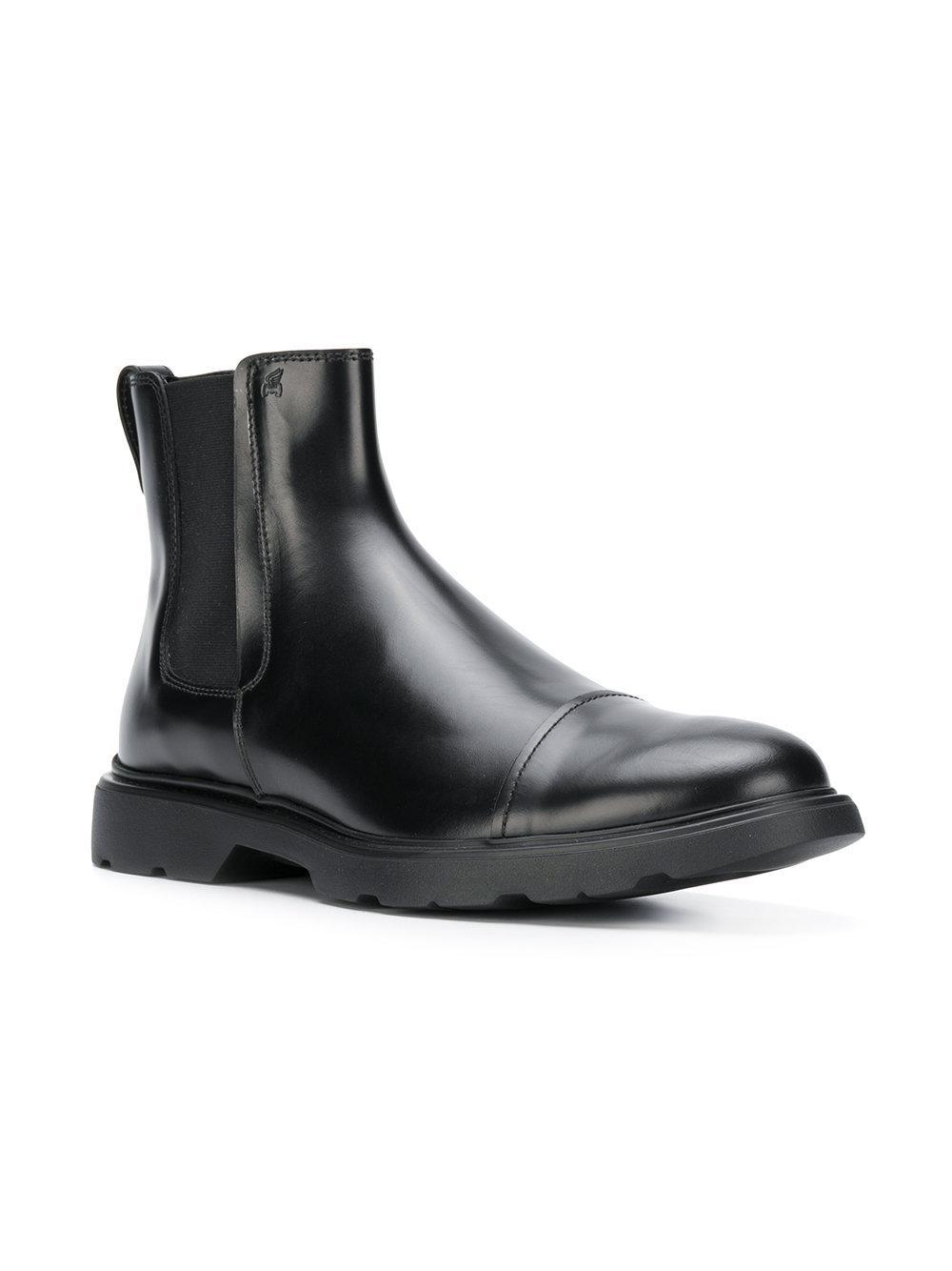 858fe23c7492e Lyst - Hogan Ankle Boots in Black for Men