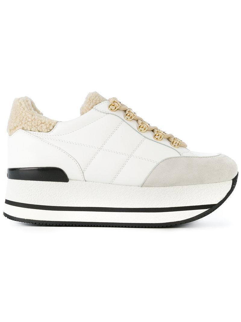 flatform sneakers - Grey Hogan KKBOjMM