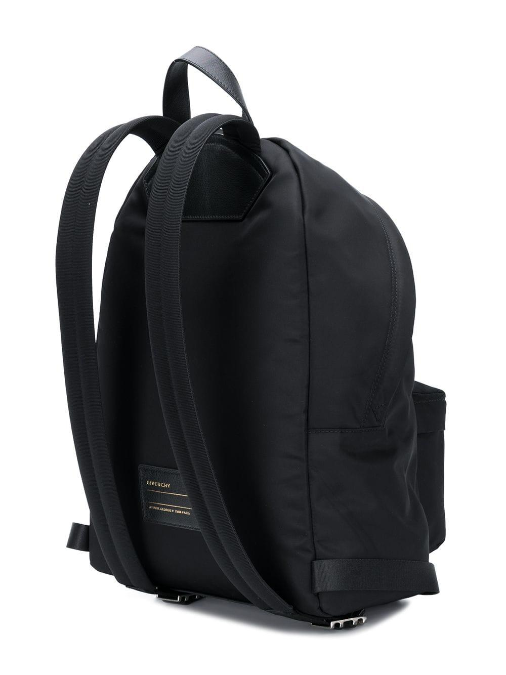 c784298c2955 Givenchy - Black Faded Logo Backpack for Men - Lyst. View fullscreen