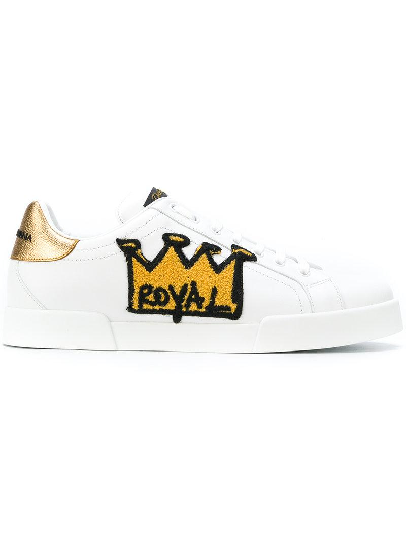 Lyst - Dolce   Gabbana Sneakers  portofino  Con Toppa  royal  in ... a287542f8aff