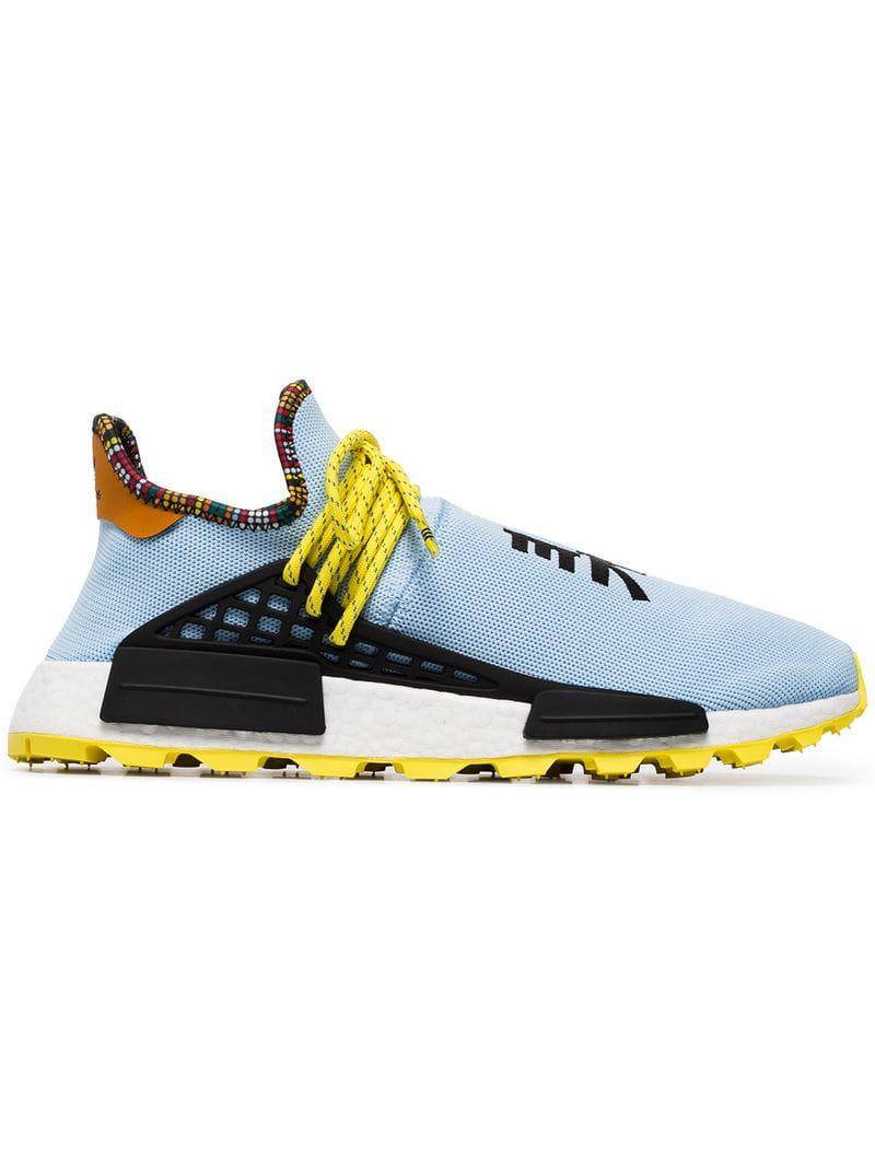 ba94bb48a0f9 adidas Originals. Men s Blue X Pharrell Williams Multicoloured Human ...