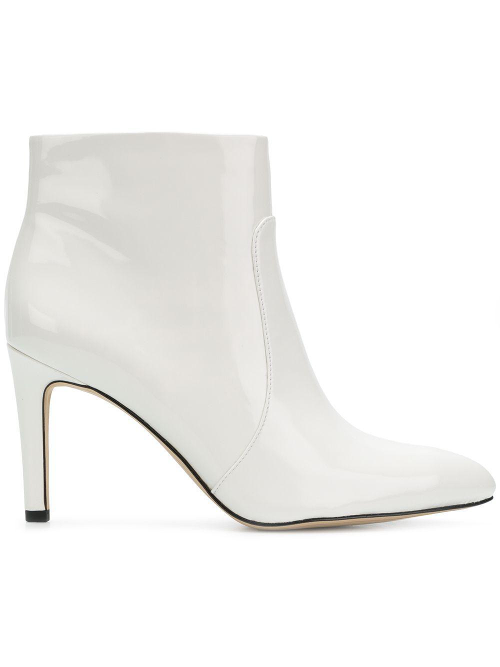 06da2637228c39 Lyst - Sam Edelman Olette Ankle Boots in White