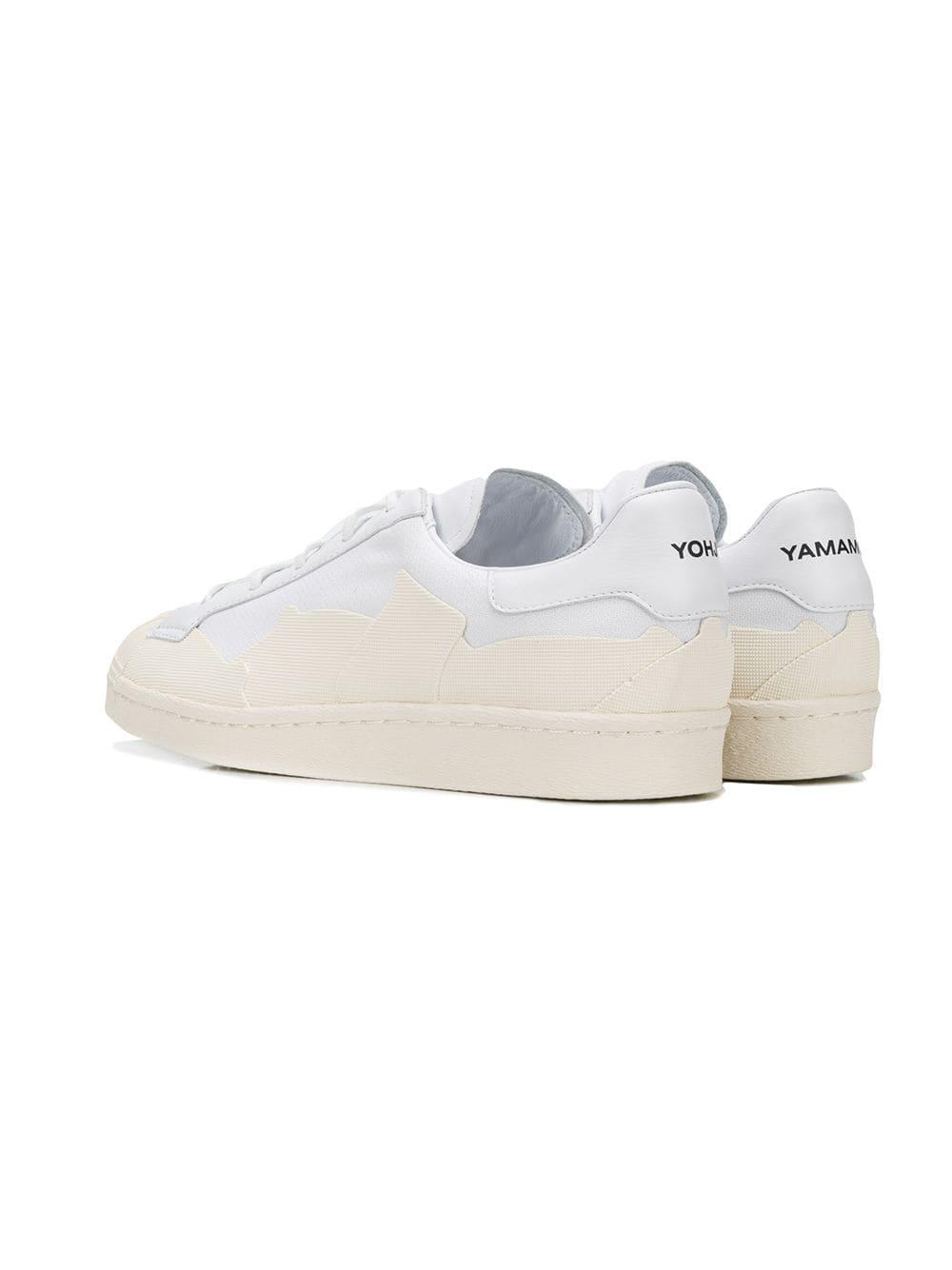 ecb5d4aa5bf1 Lyst - Y-3 Super Takusan Canvas Trainers in White for Men - Save 21%