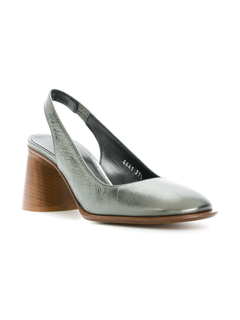Buy Cheap Pay With Paypal Sale Order mid-heel slingback pumps - Metallic Premiata Buy Online New m9ugPdi