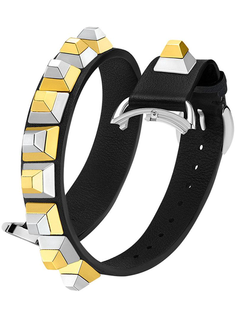 Fendi Selleria Strap You bracelet - Metallic Ld9ugHmO