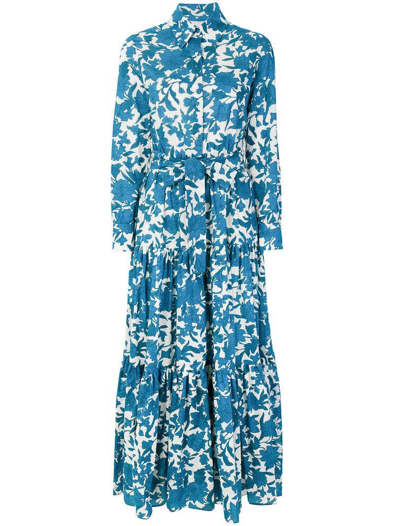 7e8c6ddb97430 Lyst - LaDoubleJ Bellini Dress in Blue