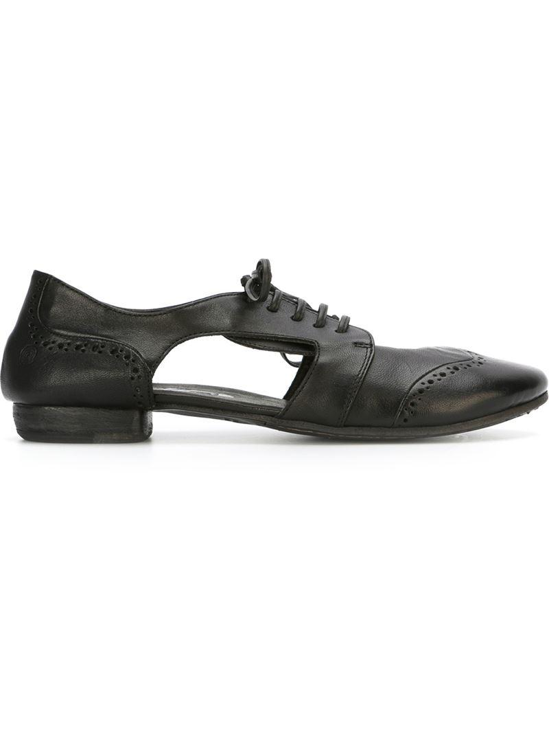 distressed cut-out brogues - Black Mars EBzTmxgP0s