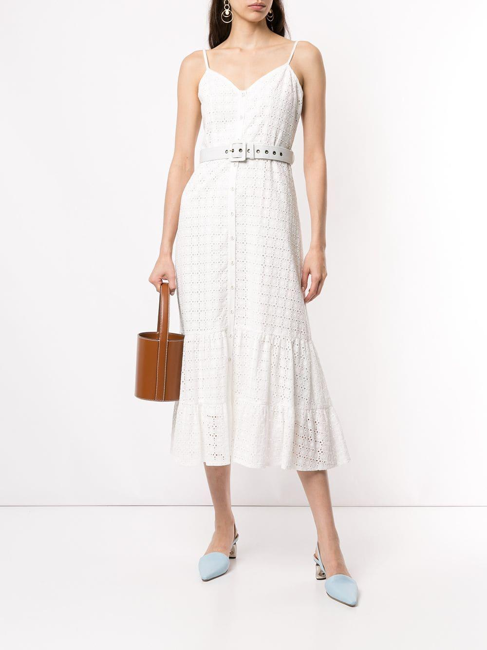 a0fc50b3a6442 Lyst - We Are Kindred Sookie Midi Dress in White - Save 37%