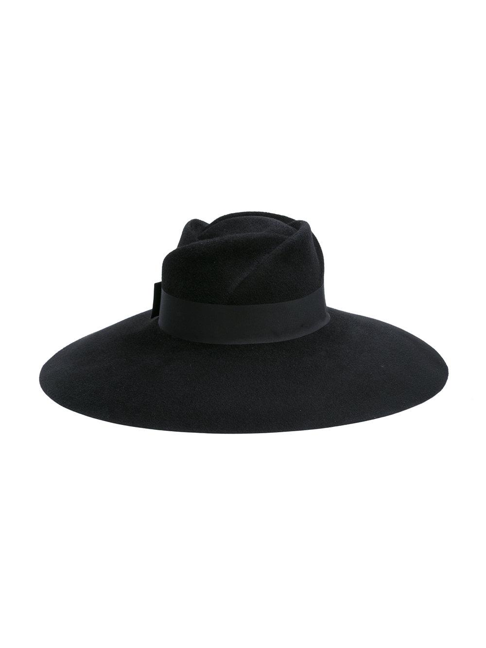 2b35444dd5f Gucci - Black Wide Brim Hat - Lyst. View fullscreen