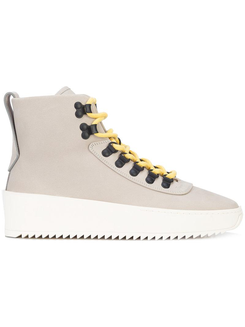 FEAR OF GOD Multi lace hi tops Clearance Online Cheap Real Clearance 100% Original Buy Cheap Best Sale Reliable Sale Online Super Specials zp4swmOjXF