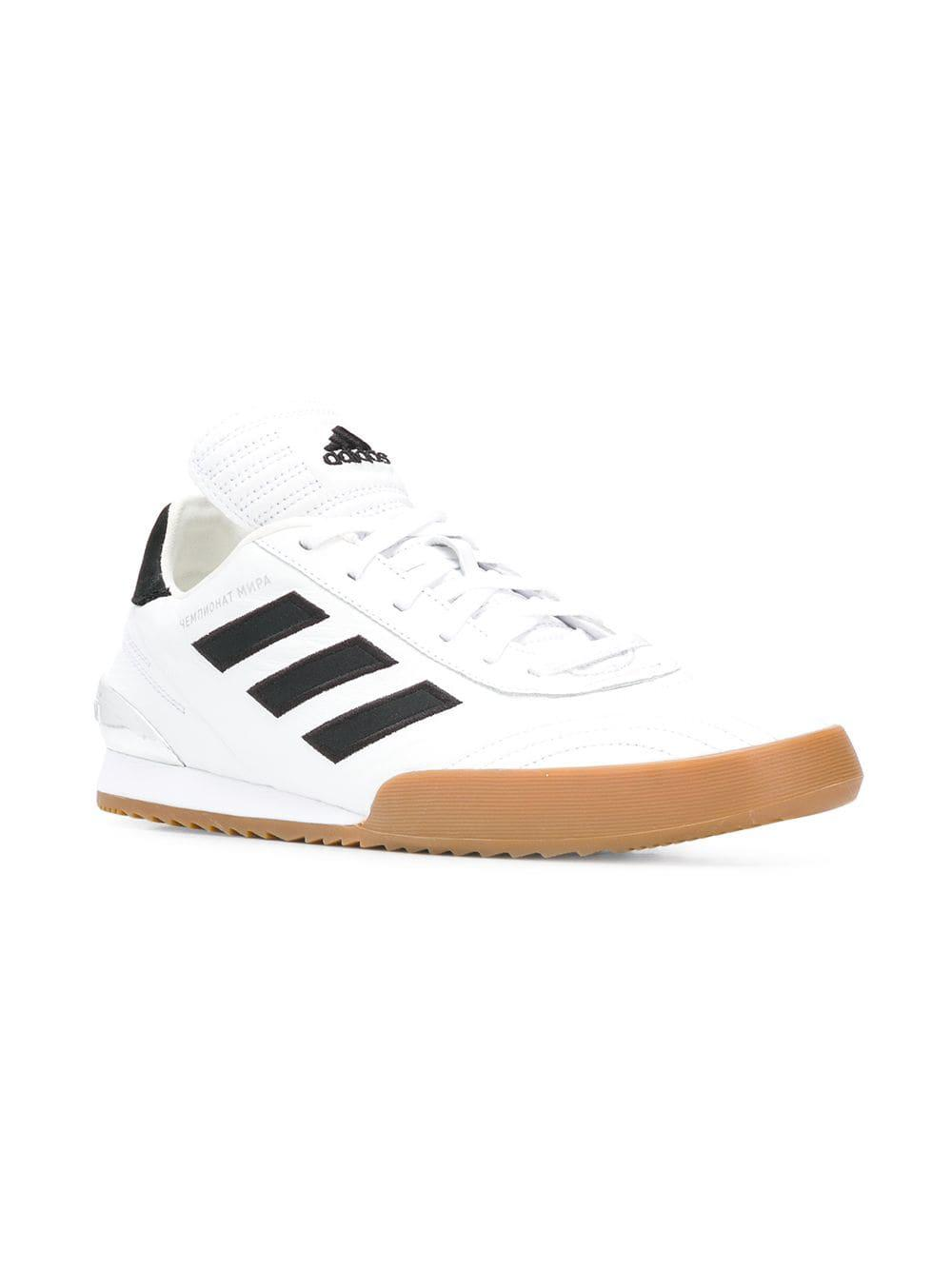 low priced 50fea e122a Lyst - Gosha Rubchinskiy Lace-up Sneakers in White for Men -