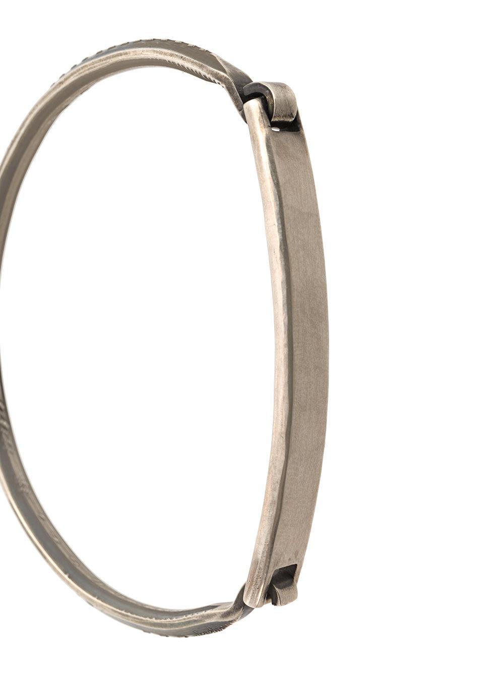classic tag bracelet - Metallic Werkstatt M ajFayWyp
